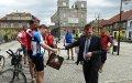 Empfang durch den Bürgermeister von Toszek (Tost)