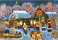 Weihnachtsgemälde