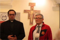 Pilger Andrzej Kofluk (im Foto rechts)