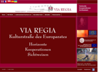 Screenshot von der Website