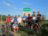 Hessischen Sportsko RadHeinzen vor Krakau Schild