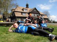 VIA REGIA bicycle tour of young Europeans