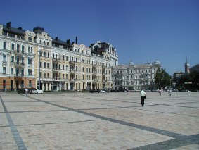 Sofievska Platz in Kiev