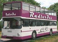 Der Radlerbus der DNV-Tours verbindet Radfahren und Busreisen in einem Reiseerlebnis VIA REGIA