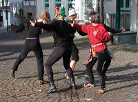 Outdoor-Performance 'Bewegungen auf der VIA REGIA'