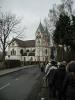 Die Klosterkirche St. Bonifatius bei der geführten Wanderung von der Innenstadt Hünfelds zum Rößberg.