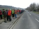 Über einhundert Interessierte schlossen sich der Wandergruppe an.