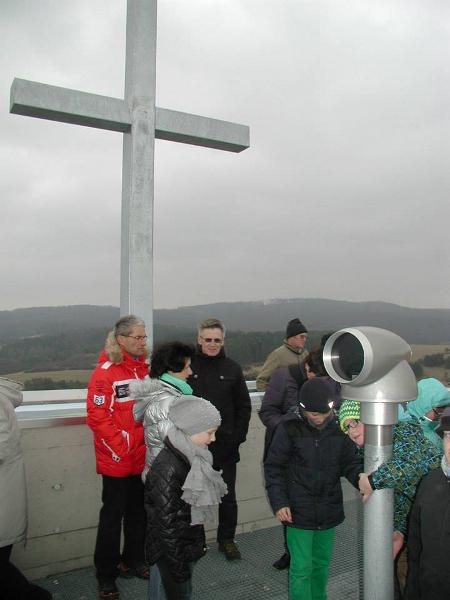 Das Viscope-Fernrohr, das Informationen über das betrachtete Gelände in das Sichtfeld einblendet.