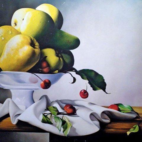 Abb. Früchtestillleben von Maurizio Monti
