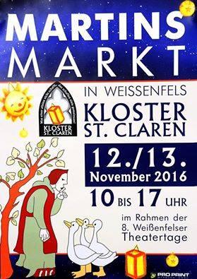 Martinsmarkt im Kloster St. Claren