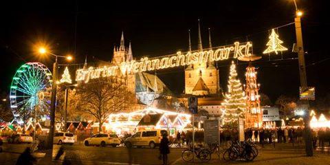 Der Erfurter Weihnachtsmarkt erwartet zum 166. Mal seine Gäste.