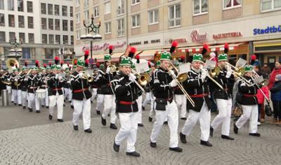 Der Weihnachtsmarkt in Leipzig