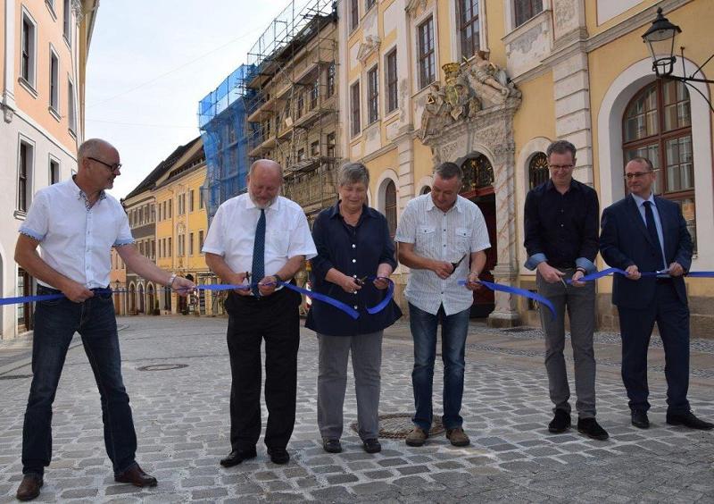 Straßenabschnitt in Görlitz ist nach zweijähriger Bauzeit saniert
