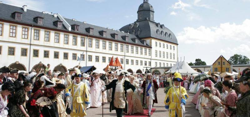 Die VIA REGIA-Stadt Gotha feiert das 16. Barockfest