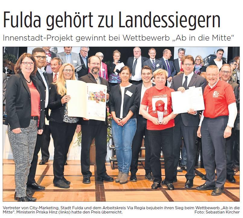 Ein großer Tag für den VIA REGIA-Arbeitskreis Fulda, Rhön, Vogelsberg.