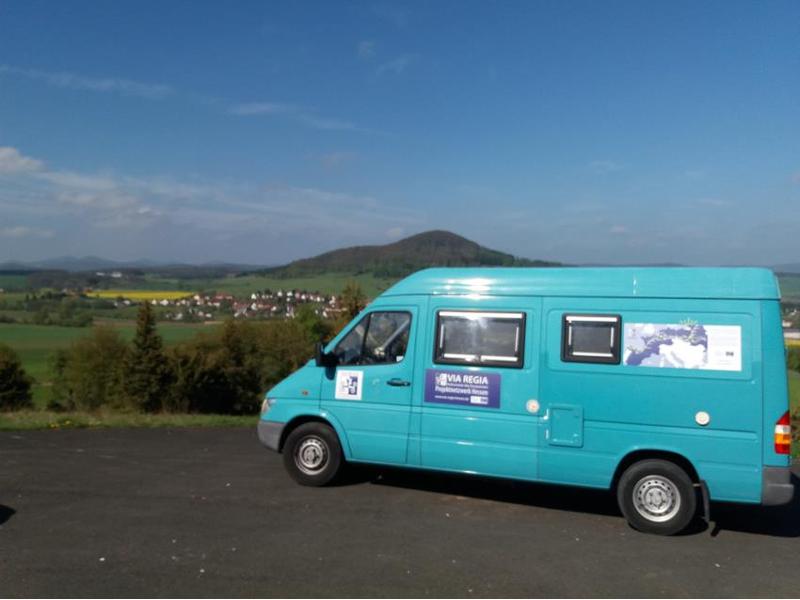 Aber das VIA REGIA-Wohnmobil bringt Werner und Karin nach erlebnisreichen Stunden nunmehr zurück nach Hause.