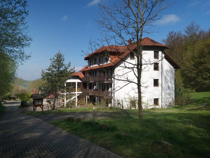 Am Öchsenberg bei Sünna steht das Keltenhotel.
