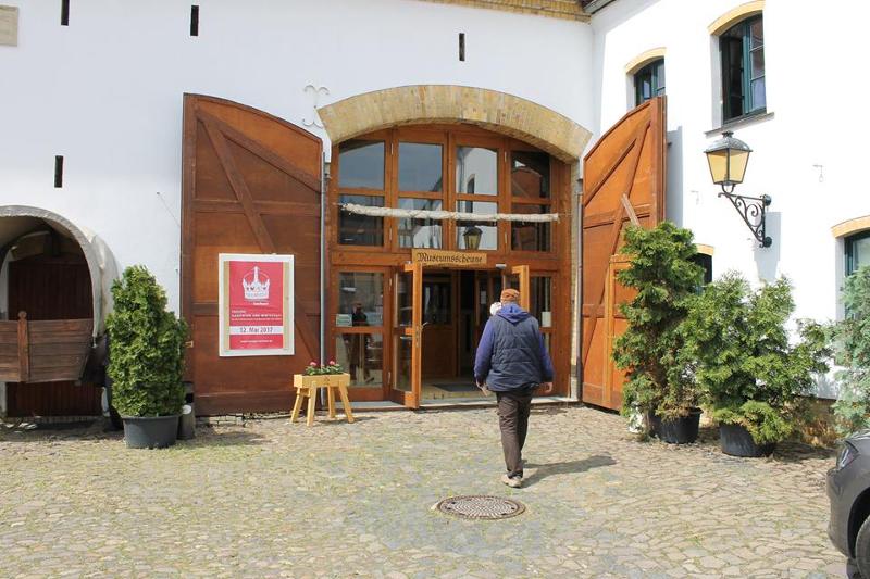 """Die Tagung """" Handwerk und Wirtschaft an der historischen Handelsstraße VIA REGIA"""" fand im Museumshof Lieberwolkwitz statt, einem Teil der Wolkser Höfe."""