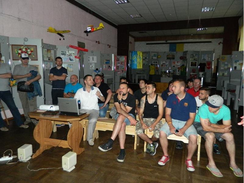 Speedwayfahrer aus fünf Ländern waren im Kulturhistorischen Museum des Rivnensker Gebietes zu Gast