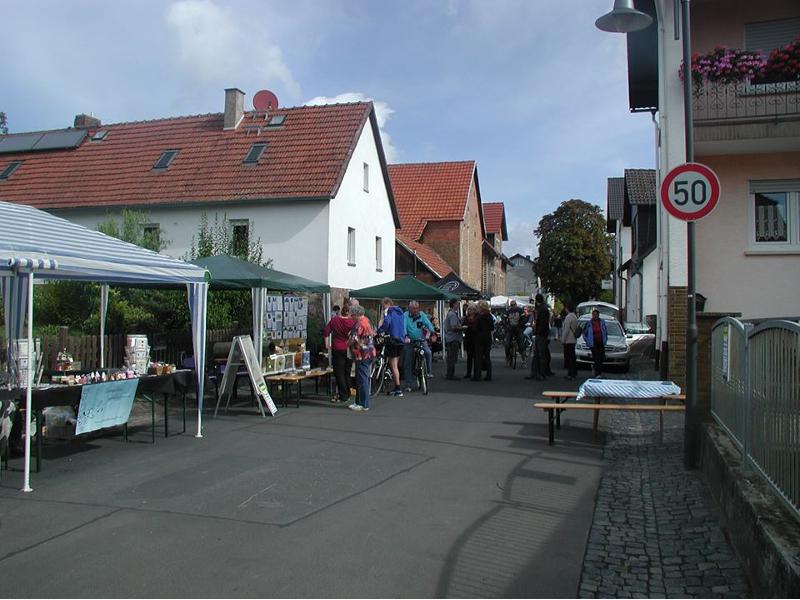 Hohe Straße Fest in Diebach am Haag 2013