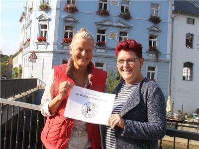 Maria Löcken-Hierl (l.) und Karin Kluge engagieren sich für den Stadtteil Seidau.
