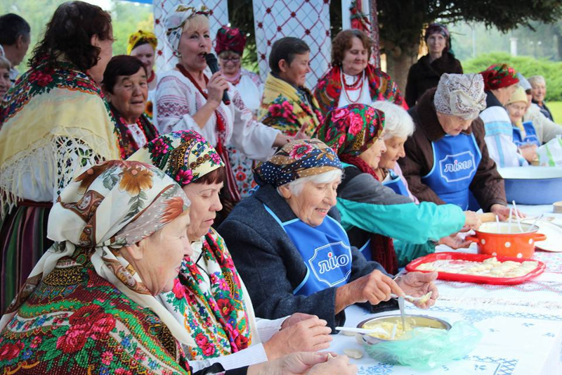 Gastronomisches Festival in Wolodymyr-Wolynskyj