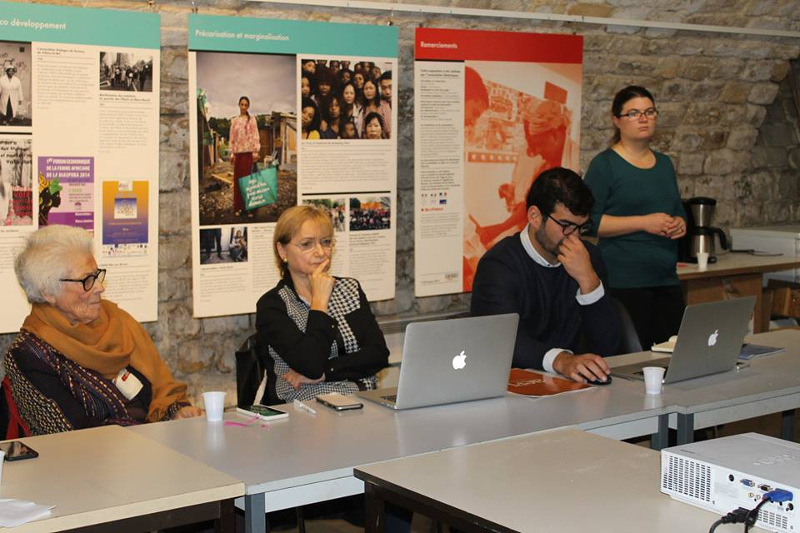 Auftakttreffen der Projektpartner des DECRA Projekts in Paris!