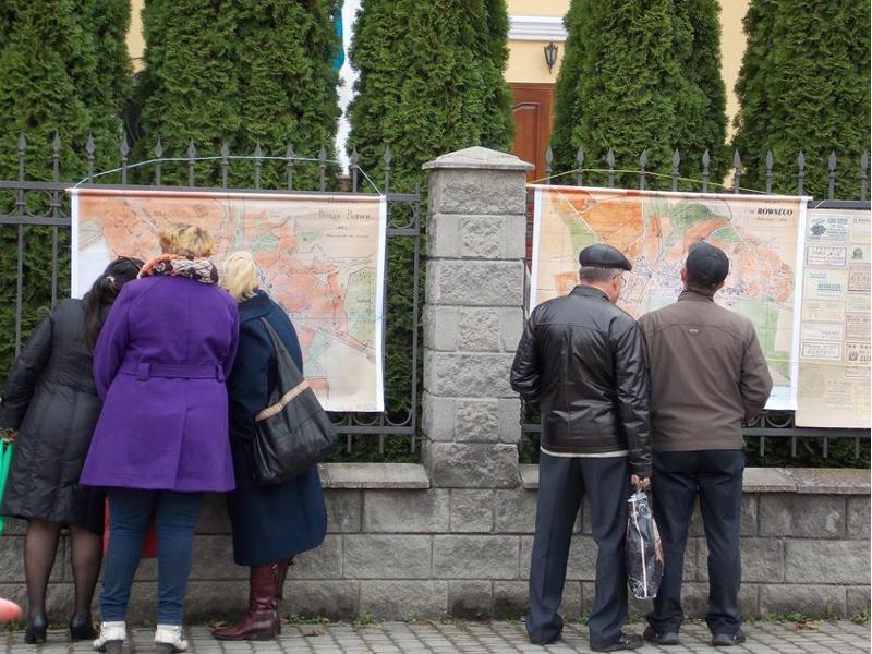 Straßenausstellung in der VIA REGIA-Stadt Rivne