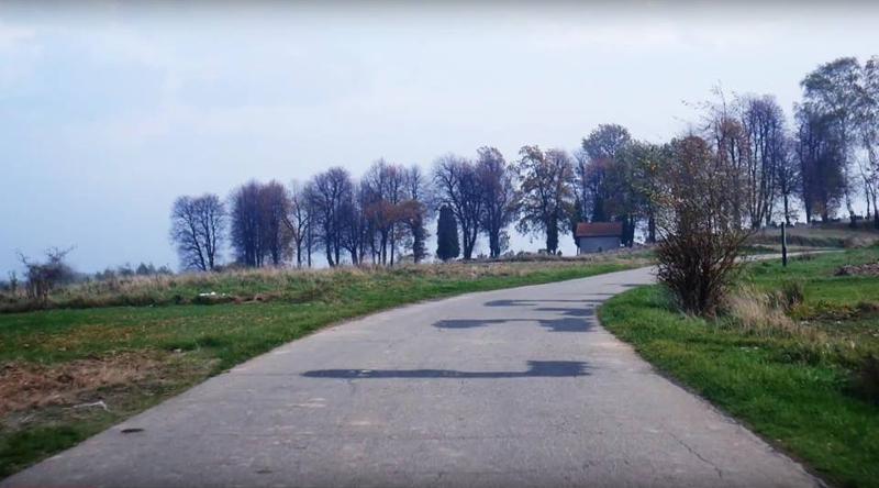 Wegeabschnitt zwischen Bochnia und Chelm