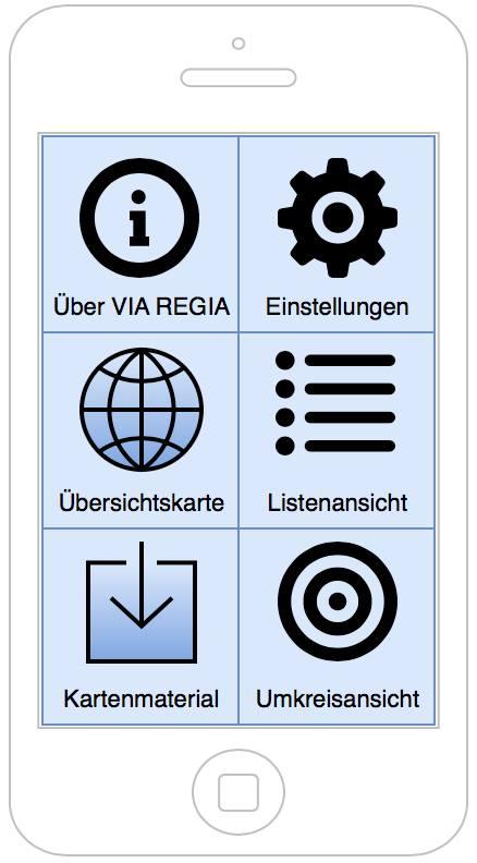 VIA REGIA-App