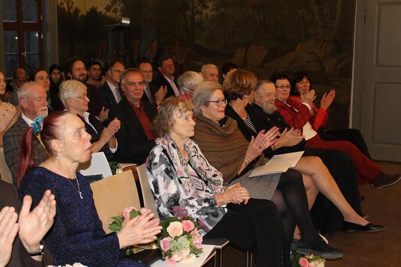 Auszeichnungverleihung für Dr. Jürgen Fischer für sein Lebenswerk