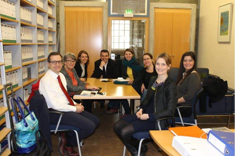 Kulturrouten task force meeting (31. Januar 2017)