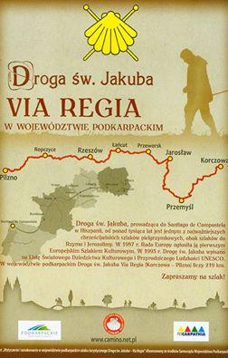 Polnischer Pilgerweg VIA REGIA ist am Interreg-Europe-Programm der EU beteiligt.