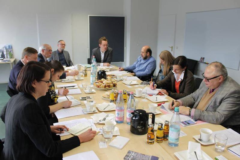 Workshop mit Kulturrouten im Deutschen Nationalkomitee für Denkmalschutz (DNK)