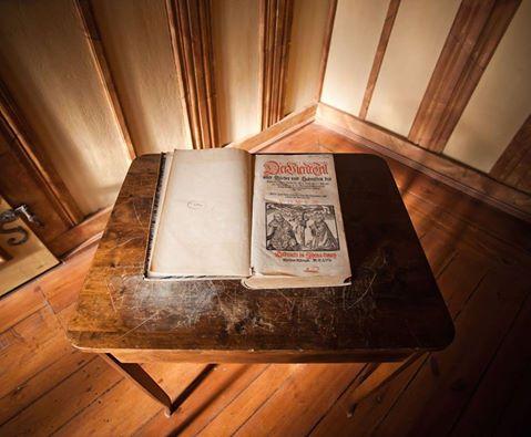 Jenaer Ausgabe der Lutherbibel im Stadtmuseum Jena