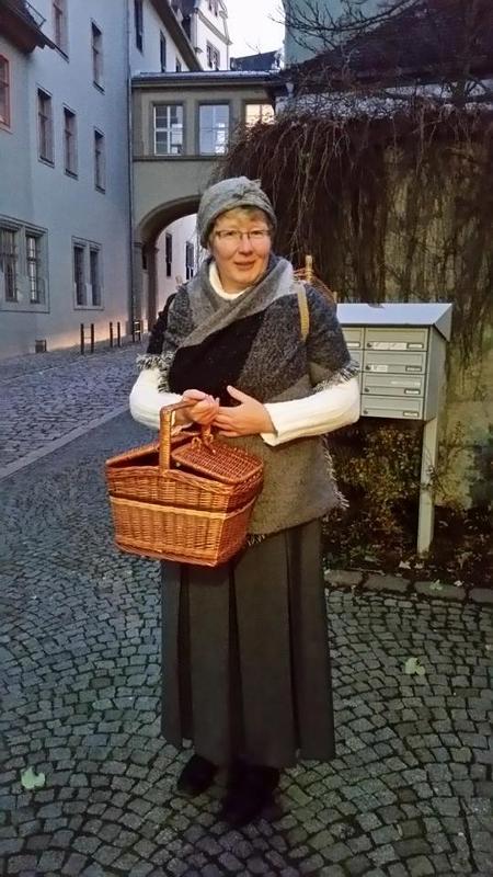 """""""Jungfer Wenzel"""" eine Botenfrau"""