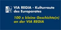 """Frontseite des Buches """"100 x kleine Geschichte(n) an der VIA REGIA"""""""