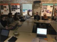 Auftakttreffen der Teilnehmer am DECRA-Projekt im Oktober 2017 in Paris