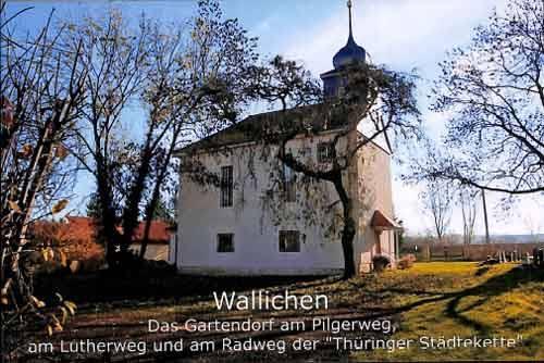 Kirche mit Bäume
