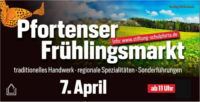 Fleyer von Pfortenser Frühlingsmarkt