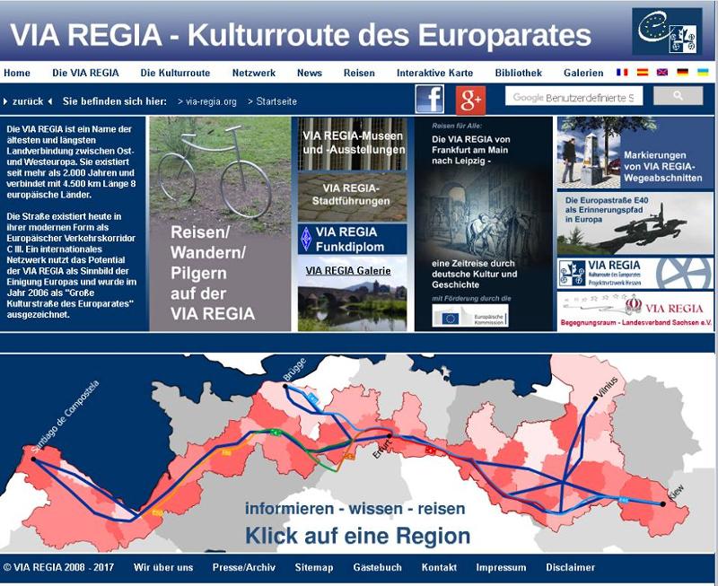 VIA REGIA Homepage