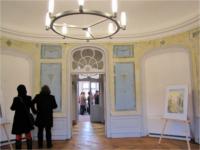"""Barockschloss Königshain, """"Gespräche"""" von Ines Scheppach aus der Gruppe """"Neue Meister"""""""