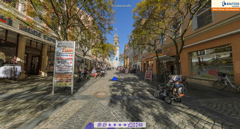 interaktiven Stadtrundgang