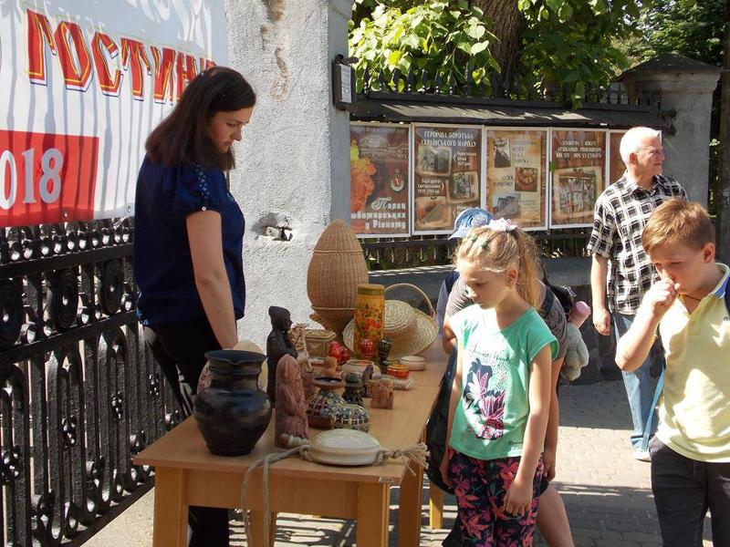 Vorbereitung zum Museumsfest, Fotos von Galyna Danyltschuk