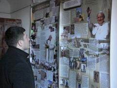 Виставка «Блаженний Папа Іван Павло ІІ та Україна» в Городку